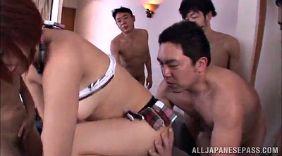Japanese doggy, Cum covered