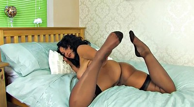 Stockings, Stocking, Mature solo