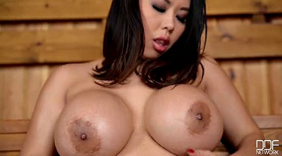 Asian solo, Asian bbw, Sauna, Asian busty