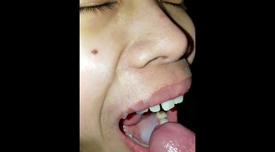 Kiss, Oral creampie