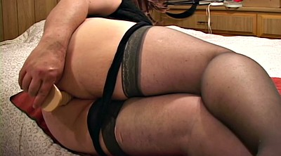 Nylon, Stockings solo, Stocking anal, Chubby solo, Bbw solo