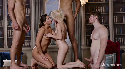 Piper perri, Library, College group, Michael, Group sex orgy