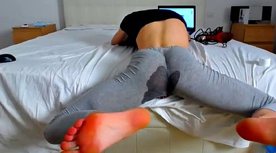 Yoga, Squirt solo, Jerking off, Webcam squirting