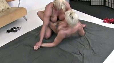 Fight, Muscle, Wrestling, Cat, Fighting, Muscle milf