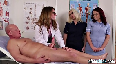 Doctor, Cfnm, Group, Cfnm handjob, Doctor handjob, Nurse handjob