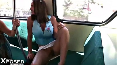 Flashing, Public upskirt