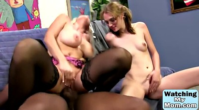 Mom, Pantyhose mom, Mom and daughter, Mom threesome, Mom milf, First bbc
