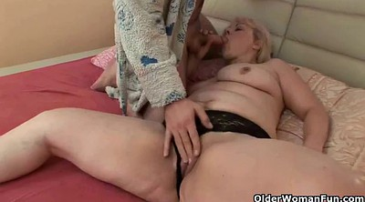 Old granny anal