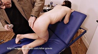 Enema, Whipping, Whip, Girls, Spanking girl