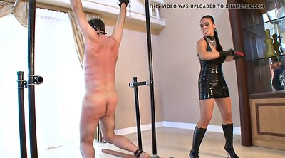 Latex, Mistress, Hard whipping