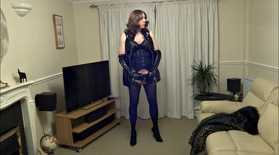 High-heeled, Pvc, Masturbation stocking