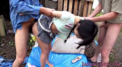 Japanese outdoor, Japanese small, Japanese threesome