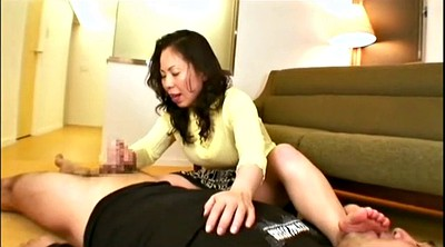 Asian foot, Asian foot fetish, Mature asian, Asian feet, Mature feet, Feet handjob