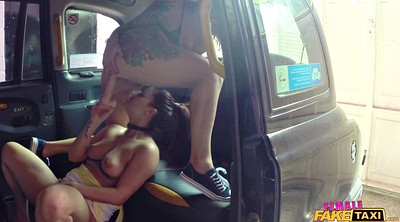 Car, Lesbian strap on, Lesbian strapon, Lesbian strap, Strap on, Face orgasm