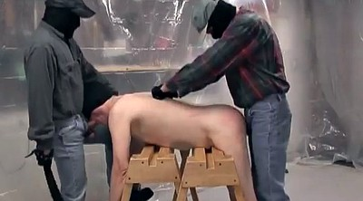 Mask, Restrained, Gay slave