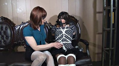 Tickle, Tickling, Tied, Crossdresser
