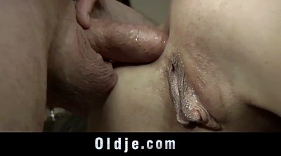 Old dick, Teens anal