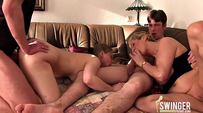 German, Swingers party, German mature