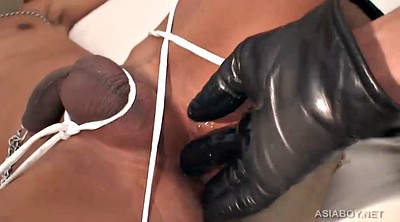 Gloves, Leather, Asian boy, Glove, Asian bondage