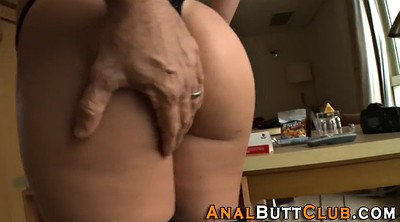 Anal gape, Spread, Spread ass