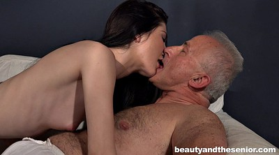 Slim, Old grandpa, Mature hd