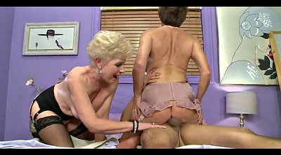 Old mature, Old lady, Mature threesome