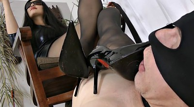 Mistress, Dominated, Asian smoking