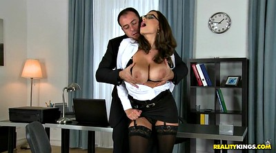 Office, Sensual jane, James, Huge boobs, Jane