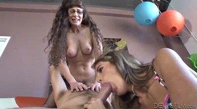 Mom, Daughter, Hot mom, Mom handjob, Mom and daughter, Share mom