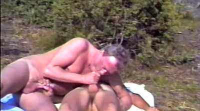 Young and old, Videos, Outdoor granny, Granny handjob