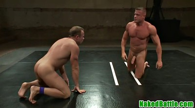 Wrestling, Gay handjob
