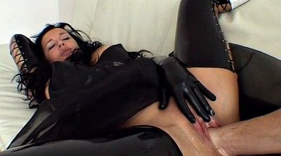 Latex, Abuse, Abused, Milf fisting, Latex bondage, Pov mature