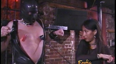 Asian bondage, Asian femdom, Mask, Latex bondage, Asian spanking, Asian spank