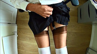 Crossdressers, School girl