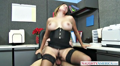 Danica, Dillon, Office stockings, Boss office