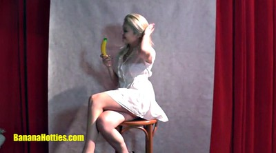 Erotic, Teen solo, Banana