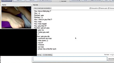 Nipples, With a girl, Nice boobs, Chatroulette
