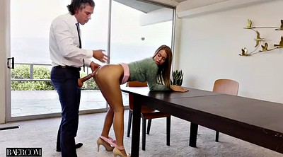 Office boss, Big orgasm