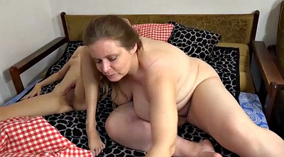 Moms, Teen lesbian, Mature mom, Young lesbian, Old mom, Young big tits