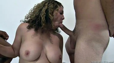 Interracial hairy, Hairy busty