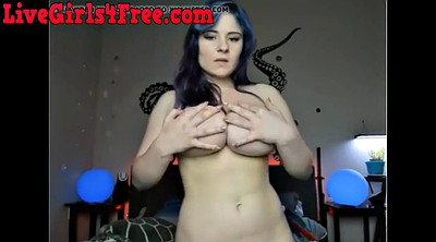 Webcam orgasm, Solo girl
