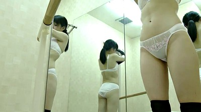 Hidden cam, Petite asian, Change