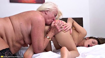 Mature lesbians, Old and young lesbians, Old & young