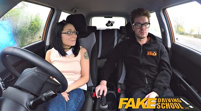 School, Funny, Driving, Asian riding