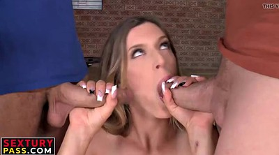 Double penetration, Young anal