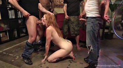 Double anal, Redhead anal, Gangbang anal, Tit bdsm, Double fisting