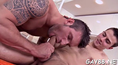 Oil, Massage gay, Oiled