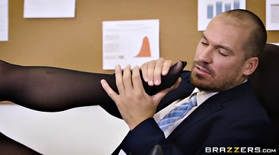 Boss, Secretary, Feet fuck