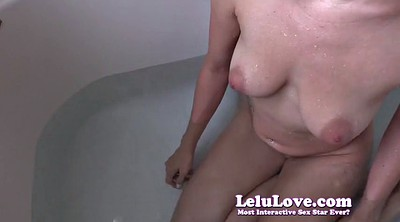 Bathtub, In the shower