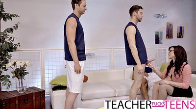 Teachers, Jennifer white, Students, Big cock anal, Teacher anal, Milf dp